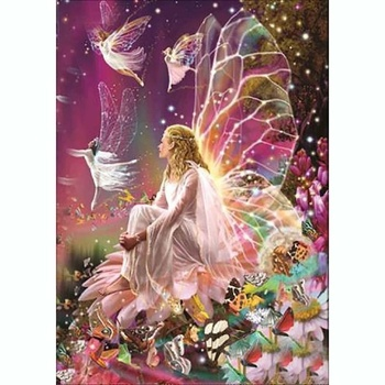5D Diamond Painting Drill Beauty Fairy Embroidery Home Decor DIY Accessories