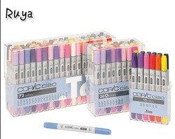 Copic Ciao Marker Set Kunst liefert Alkohol-Basierend Twin Tip Japan stabilo pinsel stift für fall schule manga colores zeichnung farbe