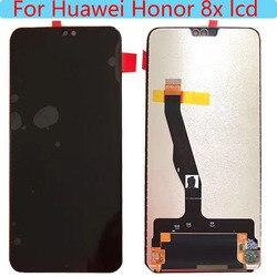 Pour 6.5» 'Huawei Honneur 8X LCD écran D'affichage Avec Cadre + écran tactile Numériseur 2340x1080 JSN-L21 JSN-L42 JSN-AL00 JSN-L22 LCD