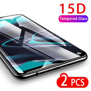 15D Tempered Glass For Oppo Reno 2 2z Screen Protector 9H HD Clear Safety Protective Glass For Oppo 10X Zoom reno2 reno 2f Film(China)