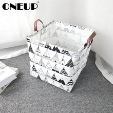 Laundry-Basket Organizer Home-Container Toy-Book Sundries-Clothes Folding Kids ONEUP