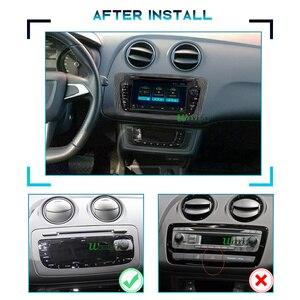 Image 2 - PX6 سيارة نظام ذكي 2 الدين راديو أندرويد 10 شاشة ل مقعد إيبيزا MK4 6J 2009 2013 autoradio مشغلات الفيديو الوسائط المتعددة دي في دي