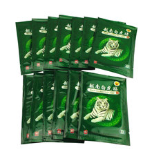 80 Pcs Vietnam Weiß Tiger Balm Schmerzen Patch Muskel Schulter Neck Arthritis Chinesische Pflanzliche Medizinische Gips baume du tigre