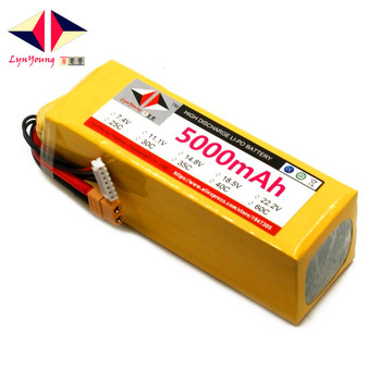 22.2V 5000mAh 25C 30C 35C 40C 60C 6S Lipo Battery For RC Boat Car Truck Drone Helicopter Quadcopter Airplane UAV 1 pcs lion power lipo battery 2s 7 4v 1500mah 25c max 35c fast charging rc lipo battery for rc boat helicopter