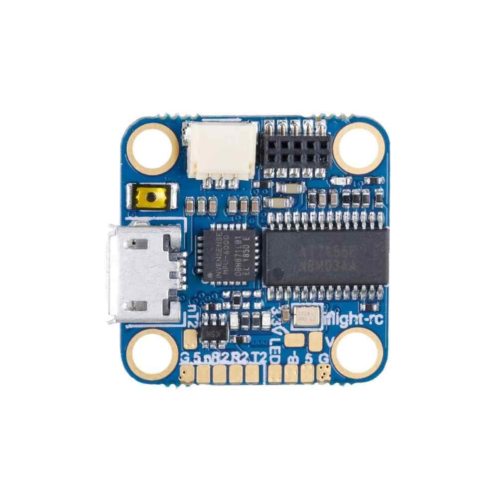 Iflight Succex Micro F4 V1.5 2-4S STM32F411 Penerbangan Controller (MPU6000) dengan OSD/8MB Blackbox/5V 2.5A BEC/M3 Lubang untuk FPV Drone