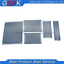 5pcs Double-Sided Protoboard Placa De Ensaio Universal Placa PCB Verde Azul 2*8cm 3*7cm 4*6cm 5*7cm 7*9 centímetros 2.54 milímetros 7*9mm