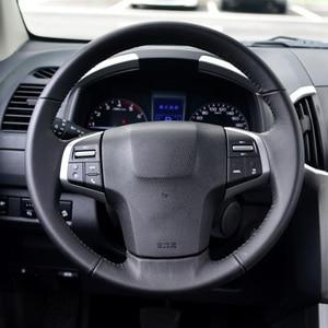 Image 2 - Constante Snelheid Cruise Schakelaar Stuurwiel Panel Afstandsbediening Radio Audio Volume Bluetooth Knop Voor Isuzu D Max Mux
