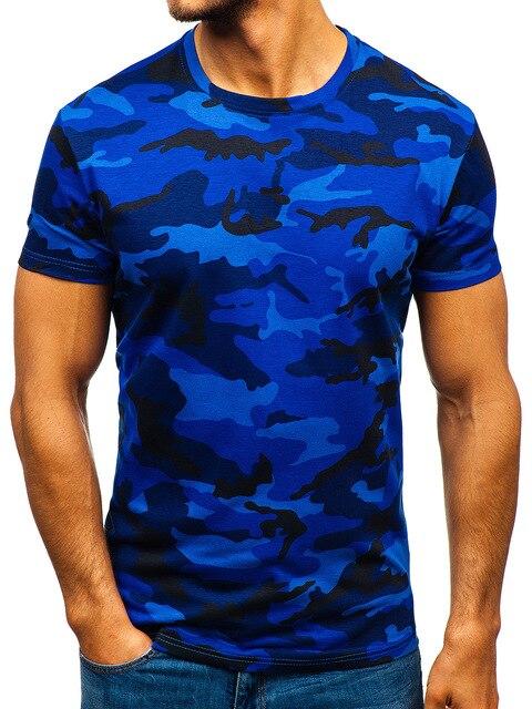 Купить e baihui новая летняя модная камуфляжная футболка для мужчин