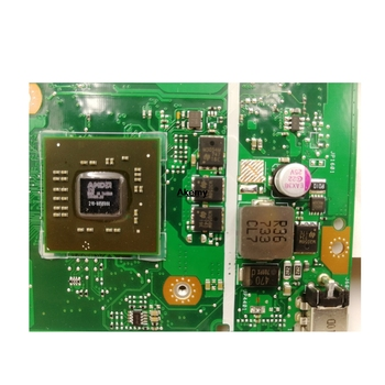 Dla ASUS X540BP X540B A6 CPU Laptopa Płyty Głównej 100% Test Dobry