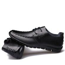 Original RH Men Shoes Comfortable Beans Driving Casual Leather Fashion MenS