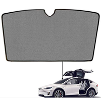 Applicable to Tesla Model X front sunroof wing sunshade curtains car sunroof sunshade