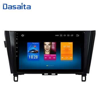 "Dasaita 10.2"" Android 9.0 Car GPS Radio Player for Nissan Qashqai Multimedia 2014 2015 with Octa Core 4GB+32GB Auto Stereo"