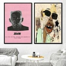 Poster e imprime quente tyler o criador igor 2019 rap música álbum estrelas pintura da parede da lona quadros de parede quadro cuadros