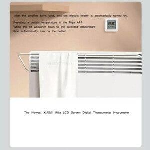 Image 5 - شاومي Mijia بلوتوث ميزان الحرارة الرقمي 2 اللاسلكية الذكية درجة الحرارة الرطوبة الاستشعار شاشة LCD الرقمية الرطوبة متر