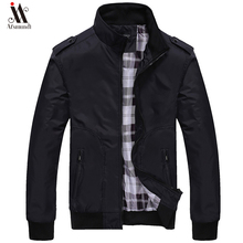 2019 New Jacket Men Fashion Casual Loose Mens Jacket Sportswear Bomber
