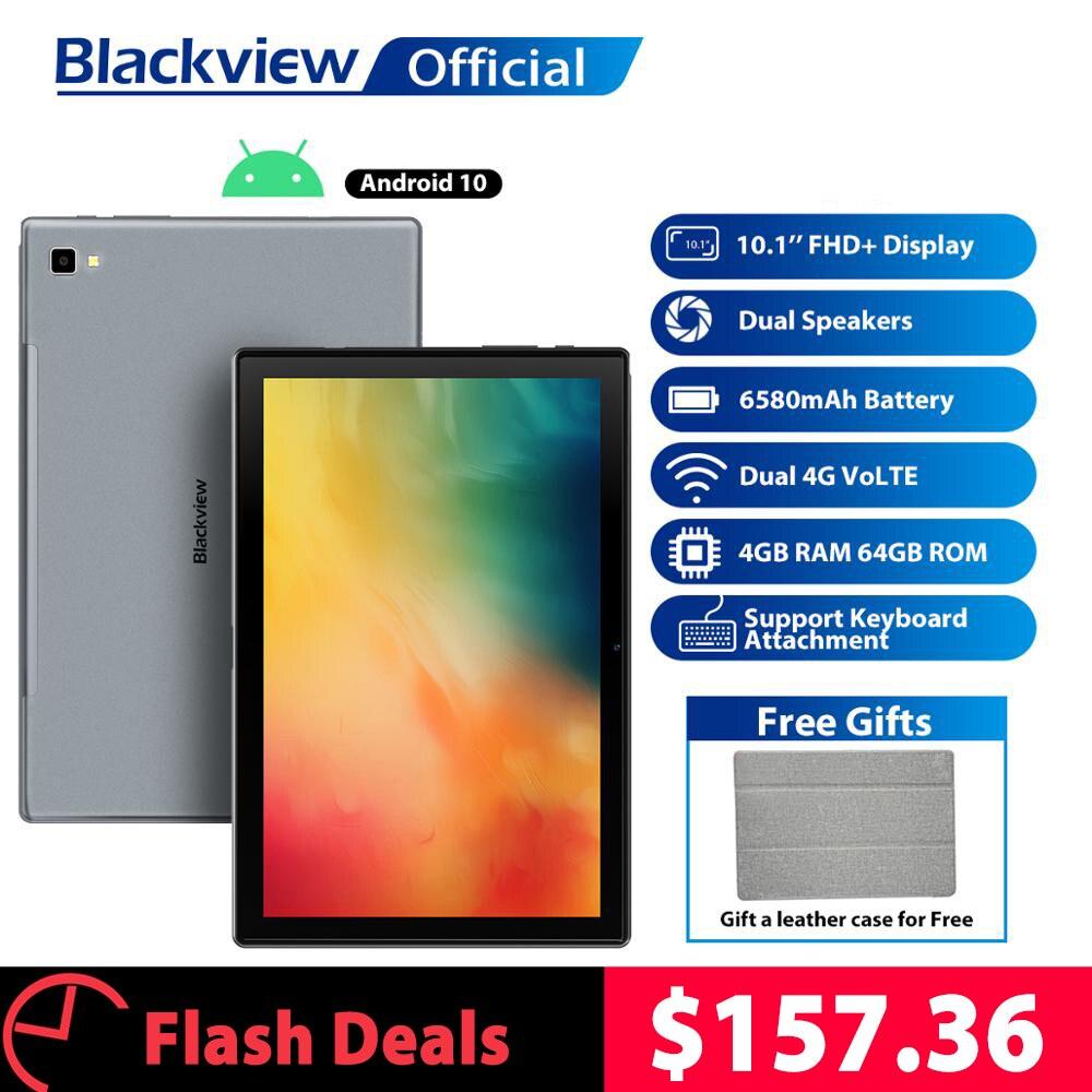 Blackview-Tab-8-da-10-1-pollici-Android-10-0-Google-Play-4G-Phone-Call-Tablets Offerta Tablet e Notebook Cinesi: Offerte Aliexpress 11° Anniversario fino al 2 Aprile 2021