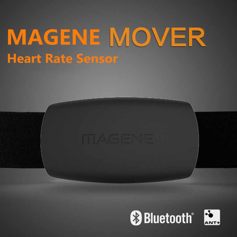 Magene 心拍数モニター Bluetooth4.0 ANT + センサーガーミン Bryton IGPSPORT 実行しているコンピュータスポーツ w/チェストストラップ MHR10 更新