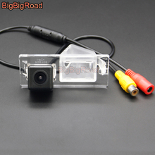 цена на BigBigRoad Wireless Rear View Camera HD Color Image For Fiat Freemont 500 Doblo Dodge Journey  JCUV 2011 2012 2013 2014 2015