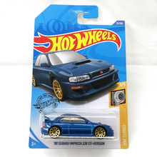 2020 Hot Wheels Cars NO.1-38  98 SUBARU IMPREZA 22B STi-VERSION NISSAN SKYLINE GT-R 1/64 Metal Diecast Model Car Kids Toys Gift