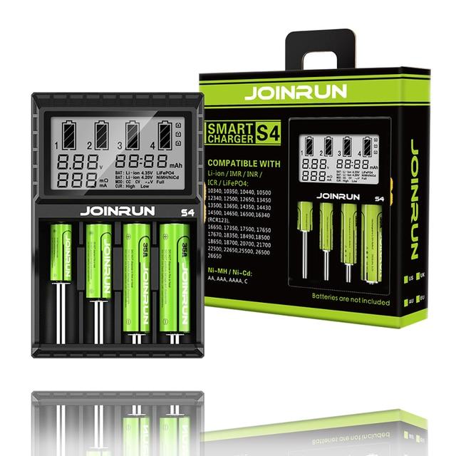 Cargador de batería de ion de litio 2.0A, Ni MH ni cd ni md 26650 18650 20700 21700 AA AAA, cargador de batería LCD