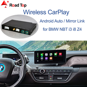 Wireless CarPlay for BMW i3 I01 NBT System 2012-2017, with Android Auto Mirror Link AirPlay Car Play Function