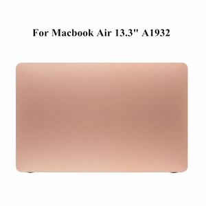 Rose Gold New Late 2018 2019 Year A1932 LCD Display Screen Panel For Macbook Air Retina 13.3