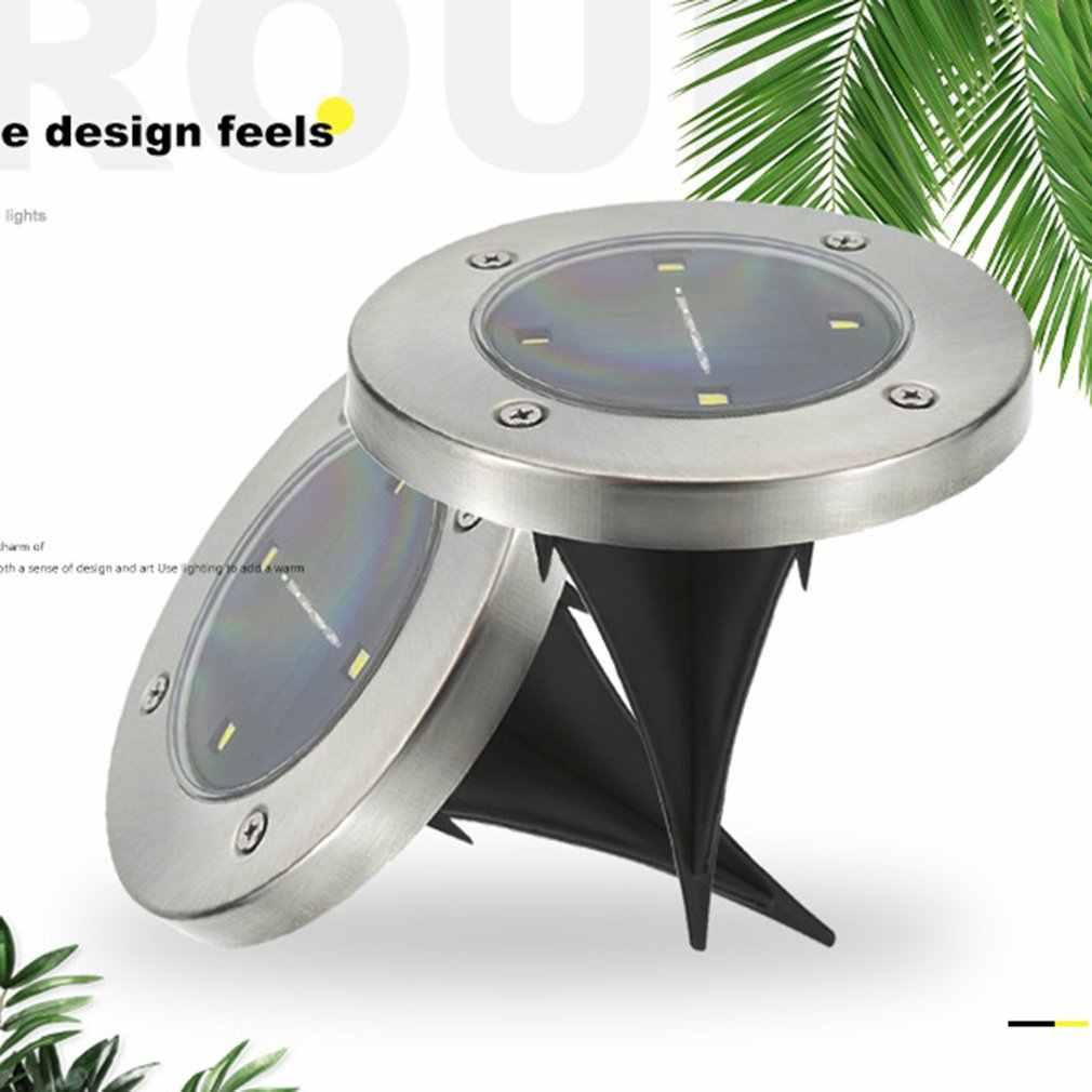 Paslanmaz çelik açık avlu zemin yağmur geçirmez güneş yeraltı ışık modern minimalist gömülü ışık