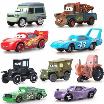 39 Style Lightning Mcqueen Pixar Cars 2 3 Metal Diecast Cars Disney 1:55 Vehicle Metal Collection Kid Toys For Children Boy Gift 1 43 disney pixar cars 3 thunder hollow lightning mcqueen taco jimbo t bone diecast model cars christmas gift toys for kid boy