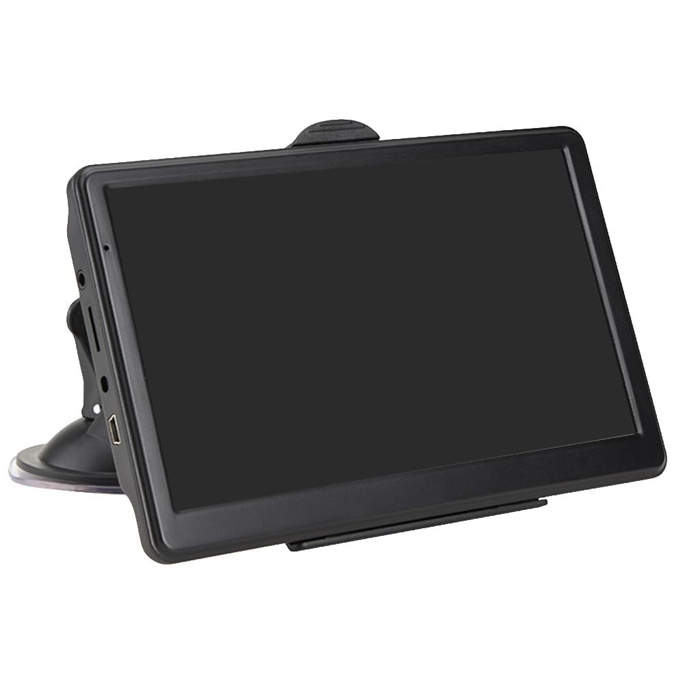 7 Inch 8GB 128MB HD Multilingual Device Resistive Display Universal Truck Portable Caravan Guidance Maps GPS Navigator Car FM