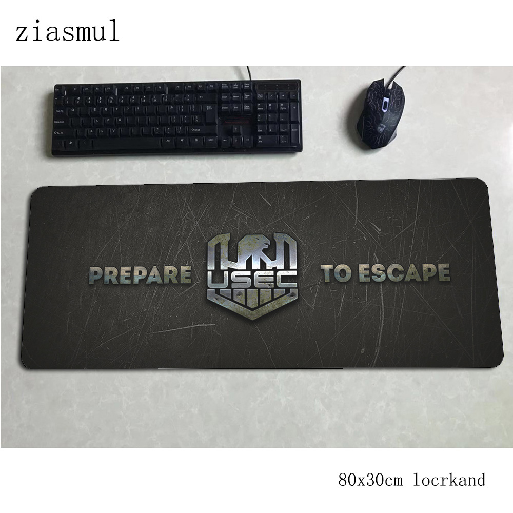 escape from tarkov mouse pad 80x30cm mats best Computer mouse mat gaming accessories xl large mousepad keyboard games pc gamer