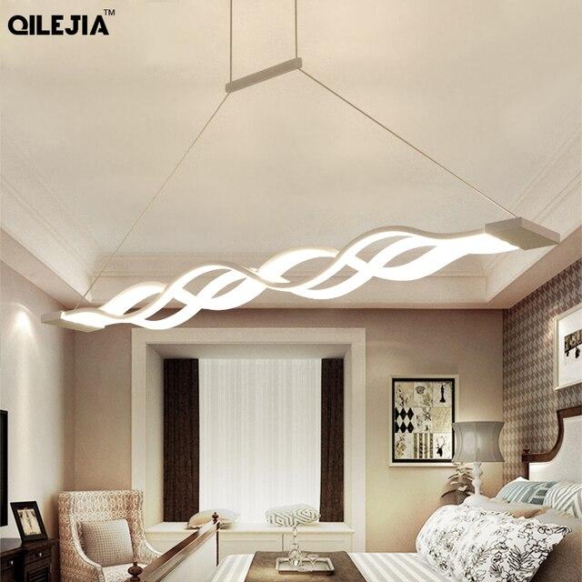 โมเดิร์นโคมไฟระย้า LED สำหรับห้องนั่งเล่นห้องรับประทานอาหารห้องครัว Luster AC110V 220V โคมไฟเพดาน LED โคมไฟระย้า Fixutres ผู้ทรงคุณ