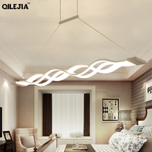 Modern Led avize oturma odası yemek odası mutfak parlaklık AC110V 220V LED tavan avize aydınlatma Fixutres armatürleri
