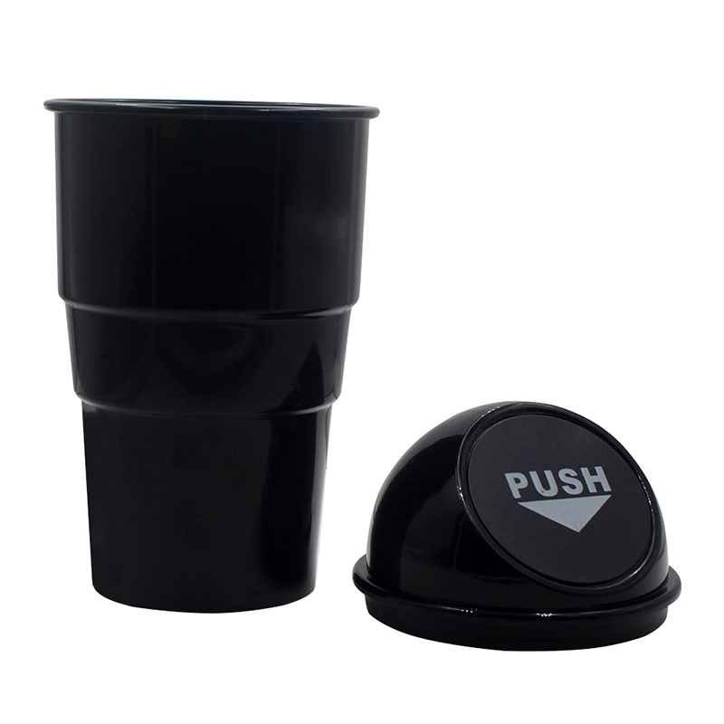 YOLU Car Trash Garbage Can Auto Trash Dust Case Holder Bin Box Car-styling Yellow Red Blue Black Gray 3