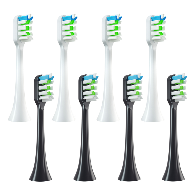 12pcs/Set Toothbrush Heads Replacement For SOOCAS X3/X3U/X5 Electric Tooth Brush Nozzle Heads Replace Smart Brush Head