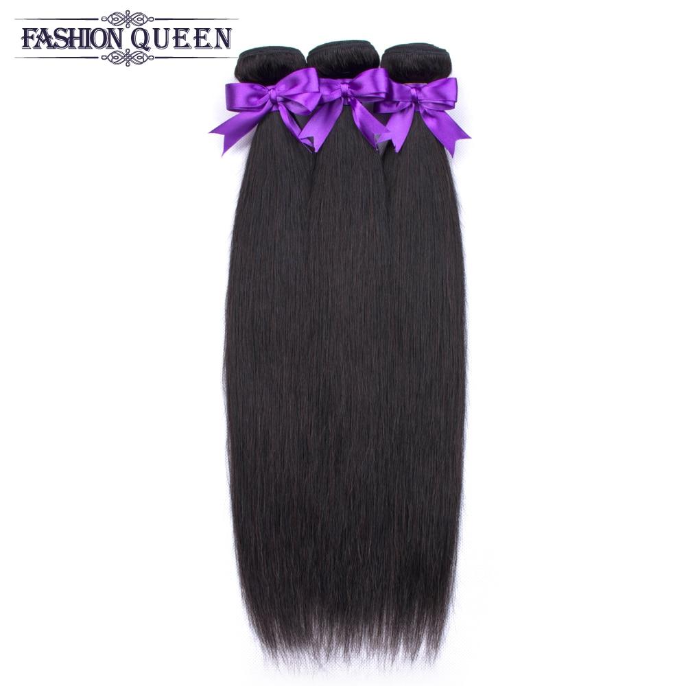 H75e2212bf7d942eaa5b3324f2b2bdffcb Brazilian Straight Hair Bundles With Closure 3 Bundles Human Hair Weave Bundles With Closure Hair Extensions Fashion Queen
