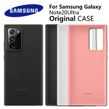 Samsung Note20 Ultra Case Official original Silky Silicone Cover Soft Touch Back Protective Shell For Note20Ultra Phone Cover