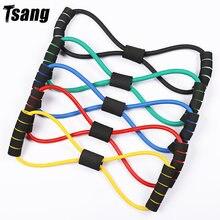 Tsang 8 слов резиновые трубки для фитнеса Резистентные резинки