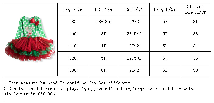 H75e26dfaa11c4d13b223c3957487b83dl 2-6T Santa Claus Christmas Dress Kids Party New Year Costume Winter Snowman Baby Girl Clothes Christmas Tree Children Clothing