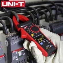 Medidor de temperatura de capacitancia, multímetro de rango automático medidor de pinza Digital unidad UT216C AC DC, RMS, probador NCV