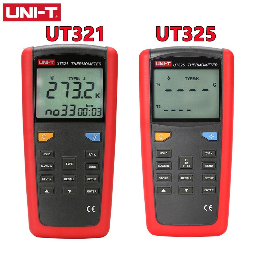 Контактный двухканальный термометр контактного типа, 1