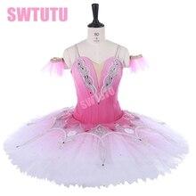 Coppelia Swan Lake Ballet Costume for girls professional tutu dress women classical Ballet Tutus skirt BT9250