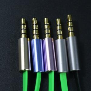 Image 5 - מקצועי משחקי אוזניות עם מיקרופון ב line נפח שליטה 3.5mm שקע אנטי מתפתל חוט אוזניות סטריאו אוזניות עבור טלפונים
