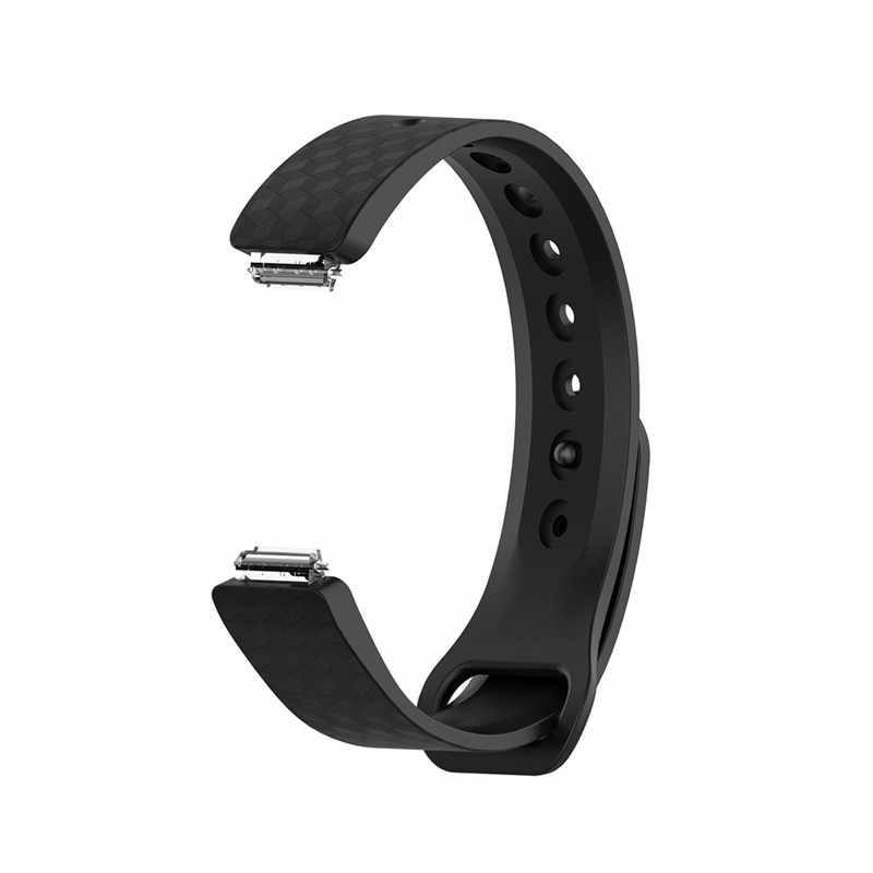 HIPERDEAL スマートアクセサリー 16 ミリメートルシリコーンの腕時計ストラップため鼓舞/鼓舞時シリコンブレスレット時計バンドリストバンドストラップ大