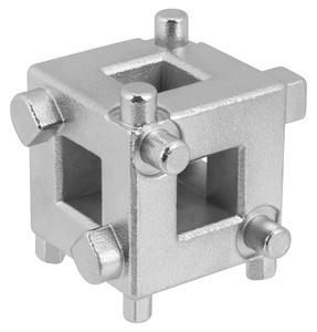 """Image 2 - Universele Auto Schijfrem Zuiger Tool Remklauw Piston Rewind/Wind Terug Cube Tool 3/8 """"Remklauw Aanpassing Auto Inspectie gereedschap"""
