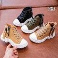 AFDSWG أحذية الربيع والخريف مارتن الأحذية الخضراء للأطفال الأصفر الإناث الأحذية الطفل ، والأحذية للأطفال-في أحذية برقبة طويلة من الأمهات والأطفال على