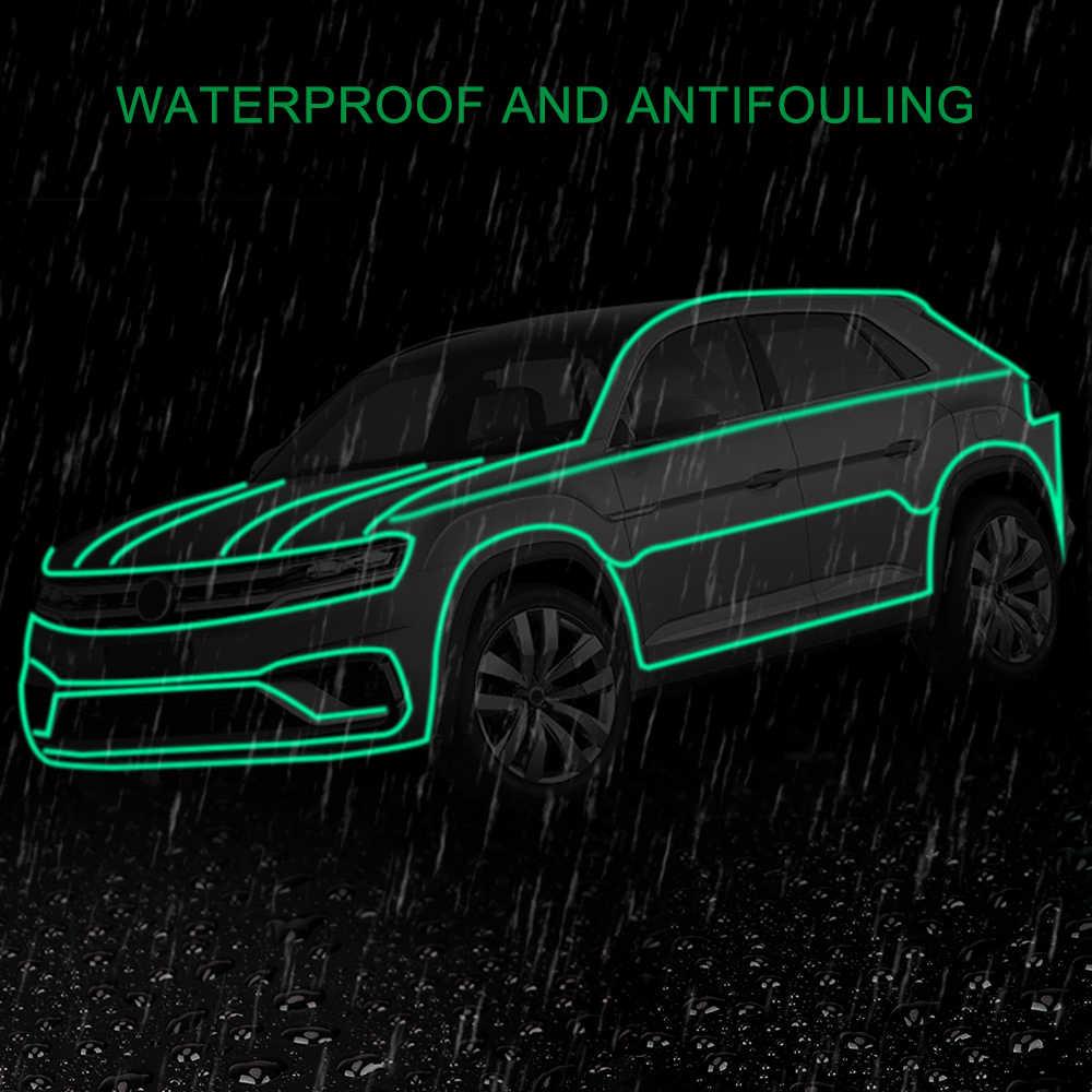 Motorcycles Luminous Car Sticker Reflective Warning Anti-rain Reflective Decals