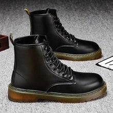 Mężczyźni buty skórzane wodoodporne buty buty wojskowe mężczyźni 2020 nowa cena za zakupy