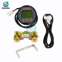 Le compteur de capacité de batterie d'affichage de cc 8-80V 50A 100A 350A indiquent le voltmètre d'ammètre de puissance d'appareil de contrôle de courant de Volt