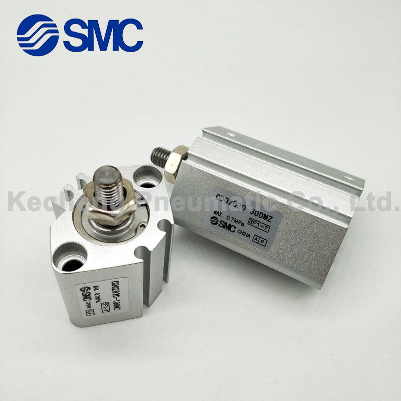 SMC Type CQ2B20-10D Miniature Compact Cylinder Double Acting Single Rod 20-10mm