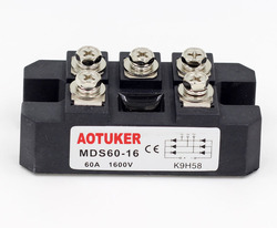 AOTUKER Bridge Reactor MDS60A Three-phase Rectifier Module MDS60-16 1600V F Type